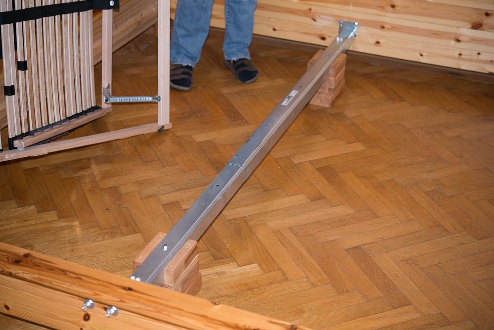 stabilisierung eines alten ikea bettes. Black Bedroom Furniture Sets. Home Design Ideas
